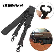 Tactical Military 2 Points Heavy Duty Rifle Sling String Adjustable Gun Type A Quick Detach QD Rope for Hunting Army