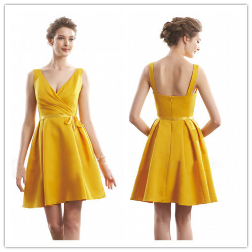 sirena Ingannevole coda  Free shipping BR 159 Sexy short country bridesmaid dress yellow gold  bridesmaid dresses gold color|dress with long sleeve|dress stickerdress  jeans - AliExpress