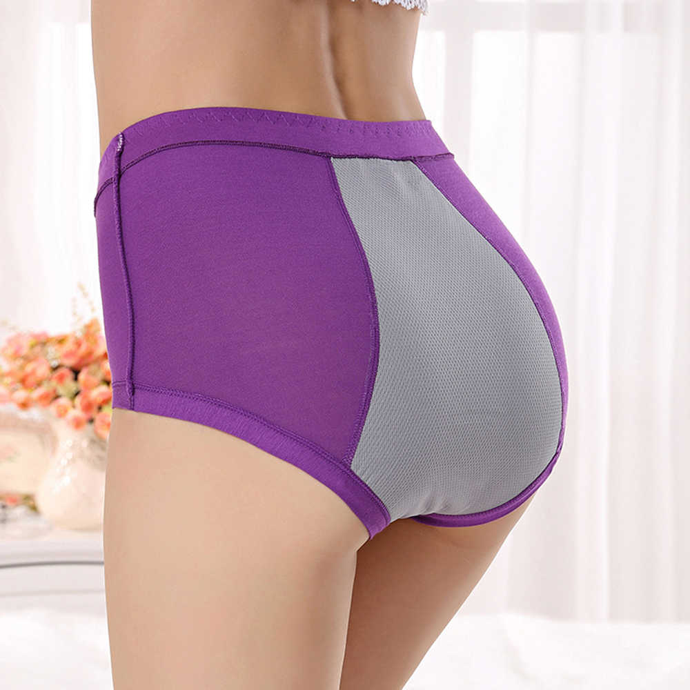 57acbc1ddd07 Detail Feedback Questions about Women Leakproof Brief Menstrual Period  Underwear Bamboo Panties Physiological Woman Female Panty Plus Size  Sleepwear on ...