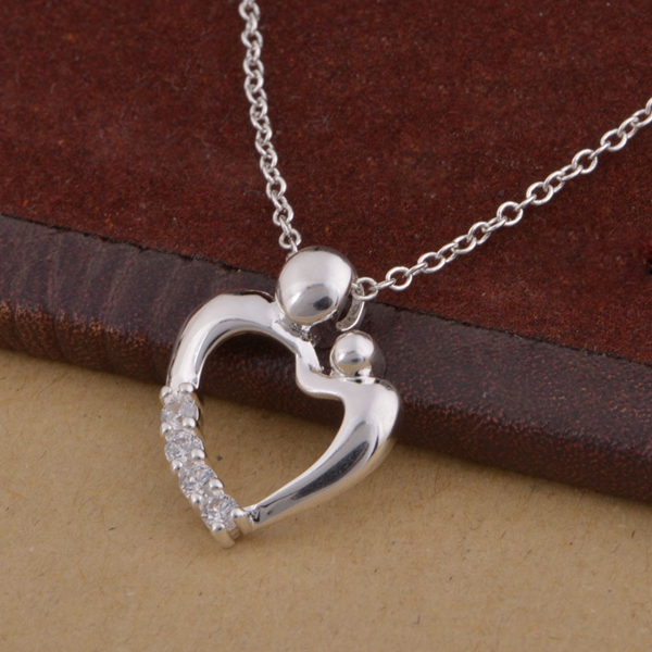 wholesale free shipping 925 silver Fashion jewelry chains necklace pendant WN-1500