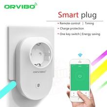 2017 Orvibo Smart Home System Smart Power Socket Plug S20C/B25 EU/UK/US/AU 4G/WiFi Remote Control Wireless Switch by Smartphone