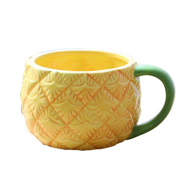 lovely ceramic mug novelty office coffee drink tea milk creative