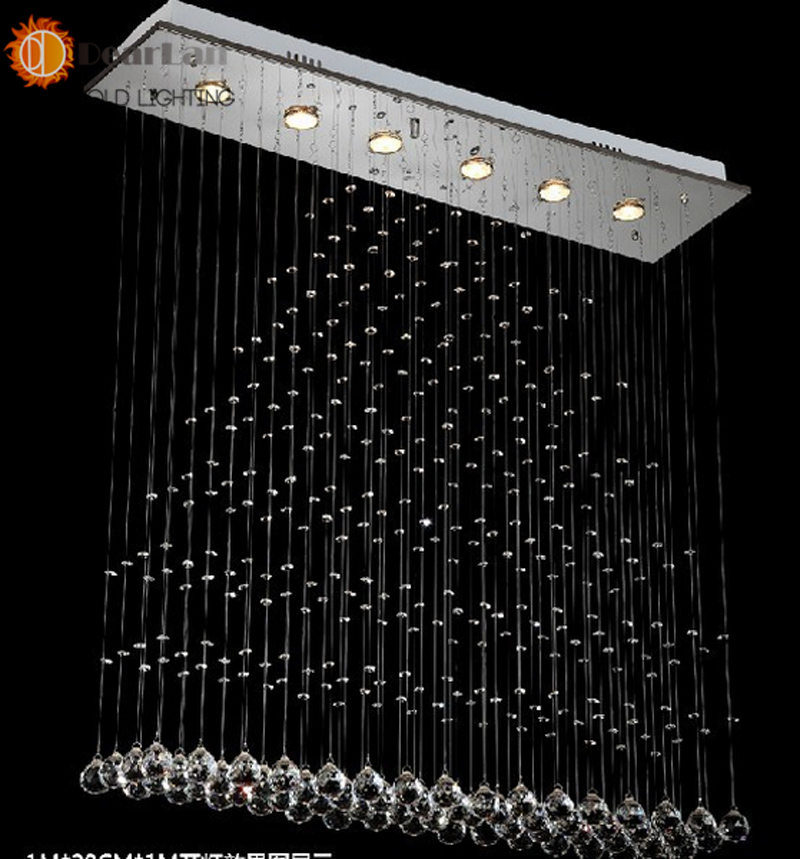 ФОТО L500*W200*H600(MM),Best Quality And Price In Aliexpress,Fashion Modern K9 Crystal Pendant Fixture Crystal Pendant Lamps For Home