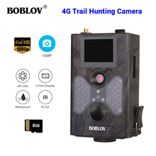 цена на 4G  Trail Camera SMTP Auto MMS SMS Command Infrared Wildlife Hunting Scouting Surveillance Camera IR Photo Trap 8GB