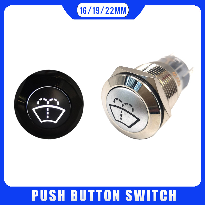 Washers Jet Windscreen New Push Button Car Switch Boat