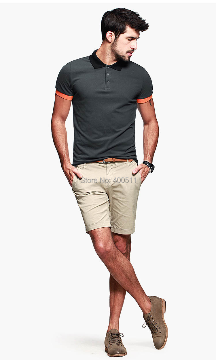 Slim Fit Business Mans Dress Polo Shirt Contrast Color Short Sleeve T Polos Summer Cotton Casual Breathable Men Y5059 In From Mens Clothing