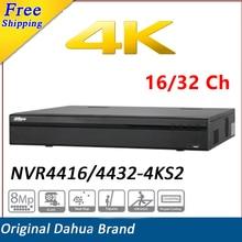 NEW Arrival CCTV Dahua NVR4416-4KS2/NVR4432-4KS2 16/32 Channel 1.5U 4K H.265 Lite Network Video Recorder Max 200Mbps Up to 8MP