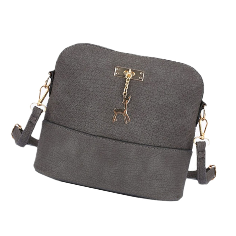 HOT SALE 2017 Women Messenger Bags Fashion Mini Bag With Deer Toy Shell Shape Bag Women Shoulder Bags Free Shipping