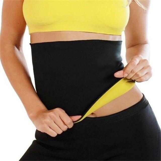 Women Wrest Slimming Hot Shaper Body-hugging Belt Sport Fitness Girdle Belt Cincher Body Shaping Yoga Belt Black