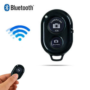 Bluetooth Phone Self Timer Shutter Button selfie stick Shutter Release Wireless Remote Control for iphone xiaomi huawei Android