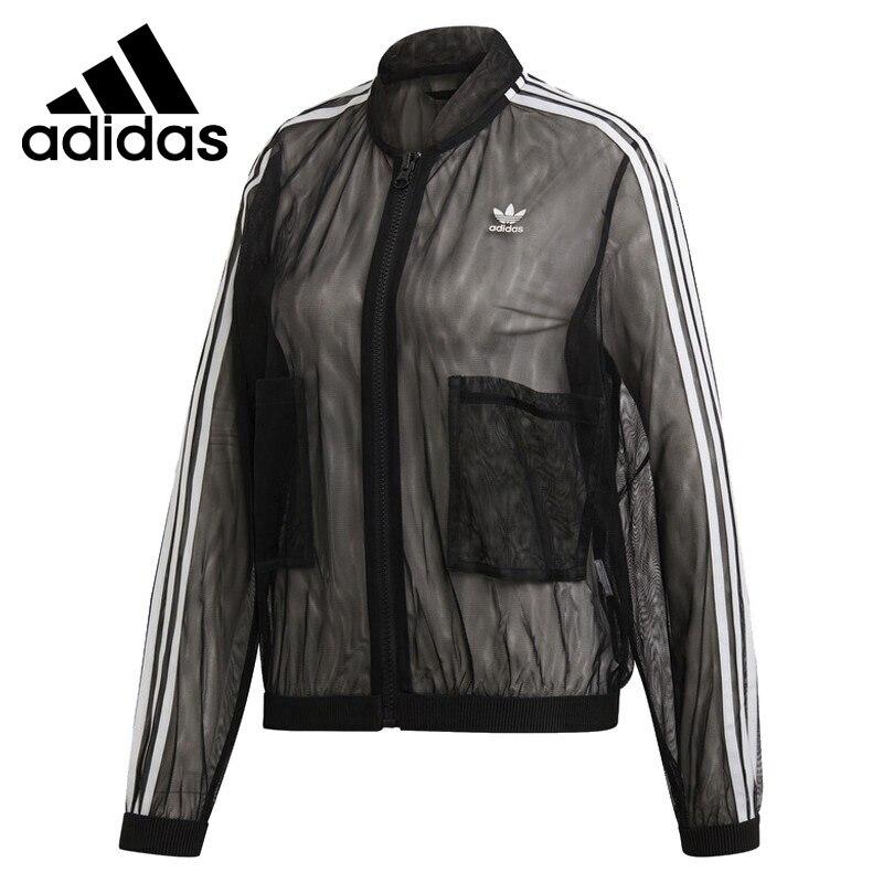 Original New Arrival Adidas Originals TRACK TOP Women s jacket Sportswear