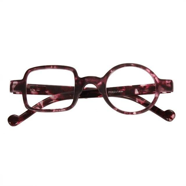 3dc1484d82 Agstum Mens Women Vintage Square Round Reading Glasses Readers 1.0 1.5 2.0  2.5 3.0 3.5
