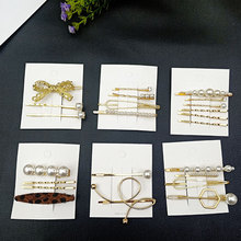 hair clip set pearl clips for women korean style barettes hairclips summer accessories barrette cheveux fille