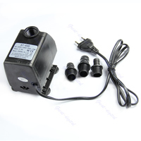 Aquarium Water Pump Submersible Fountain Air Fish Tank EU Plug 220V 45W 2500L/H G08 Great Value April 4