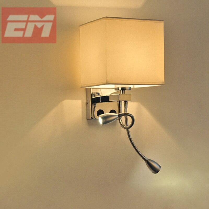 Einzigartiges Design Moderne LED Tuch Wandleuchte wandleuchte Licht Flur Schlafzimmer Nachttischlampe WWL072