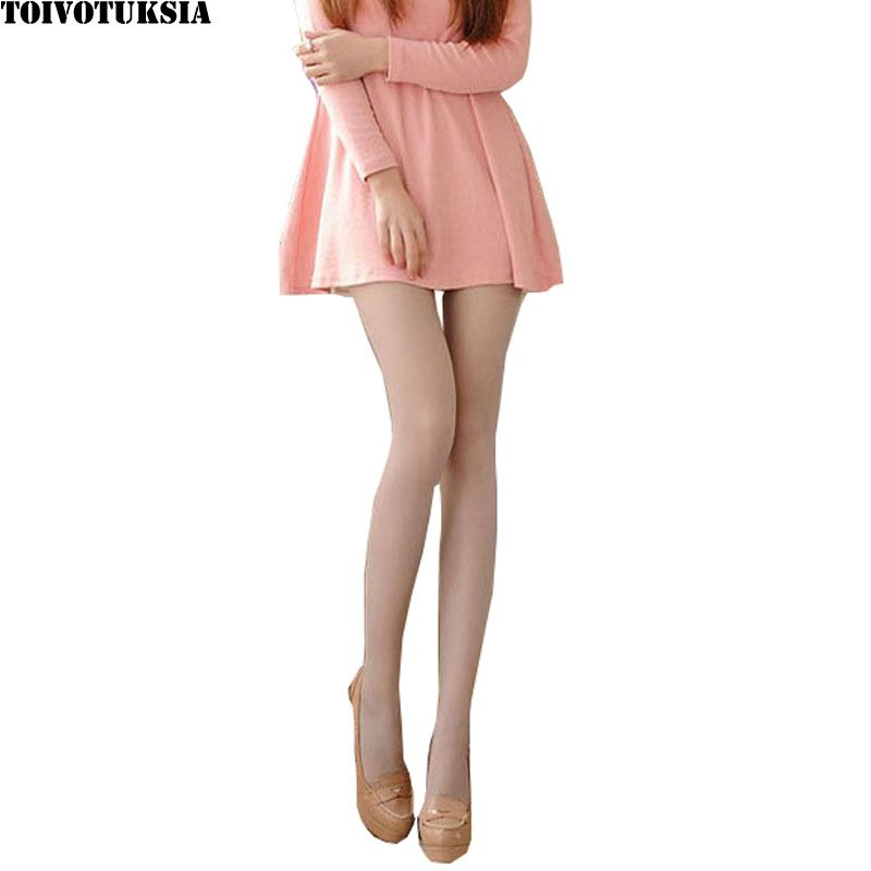 TOIVOTUKSIA Silk Stockings Womans Warmth.5D Core Yarn Transparent Ultra-Thin Nylon Stockings Plus Size Body Pantyhose