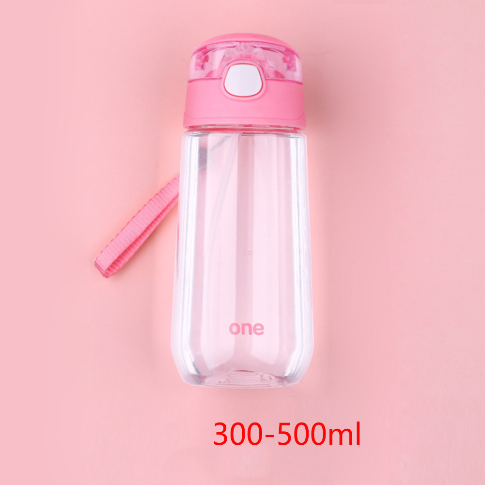 Cup Straw Water-Bottle Drinking-Gift School-Juice Boys Kids Outdoor Portable Student