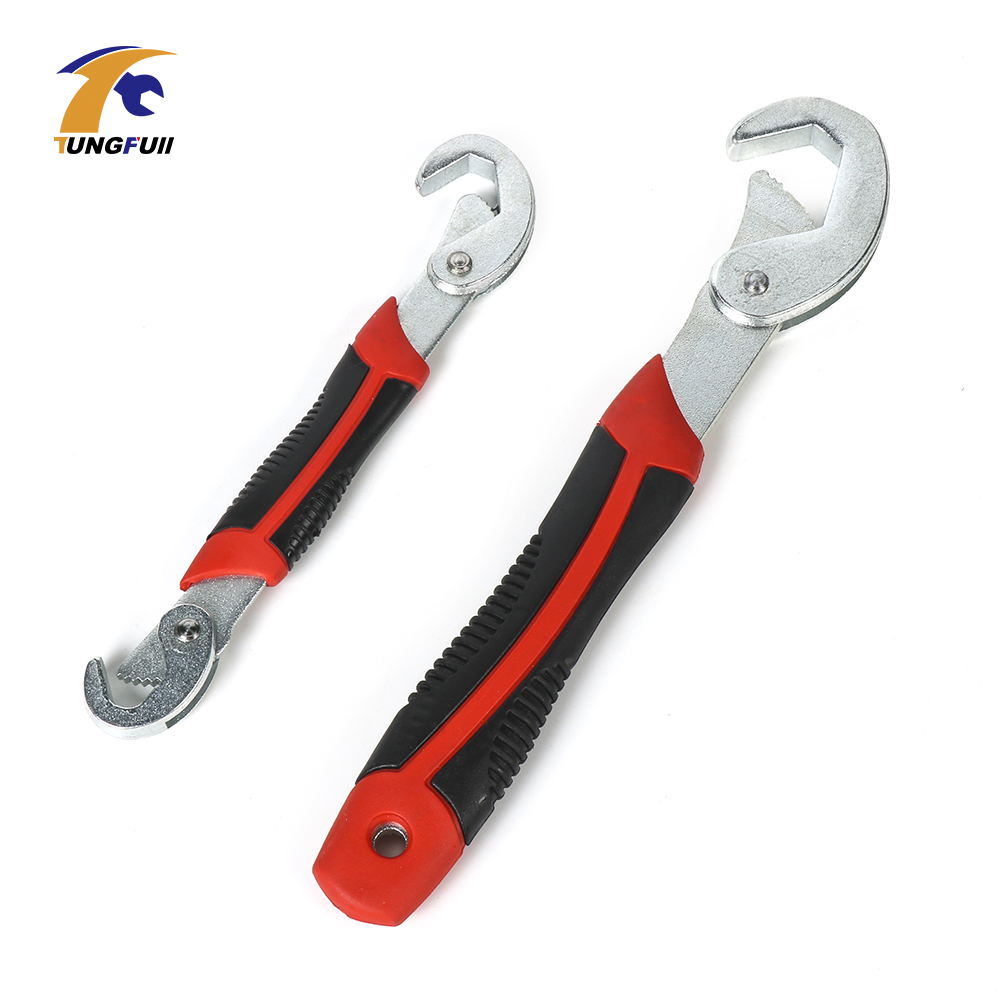 Tungfull Hand tool Adjustable Socket Head Wrench Polished chrome Spanner Chrome Combination Wrench Sets
