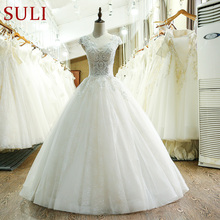 SuLi SL-218 Bohemian Lace Wedding Dress Made In China