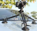 Car Mounted Tripod Suction Cup Install Professional Vehicle Van Camera Video Shot Light Weight 2.2kg