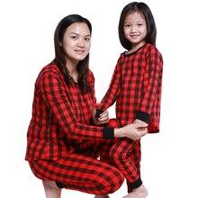 2019 Mom Baby Christmas Pajamas Set Mother Baby Kids Newborn