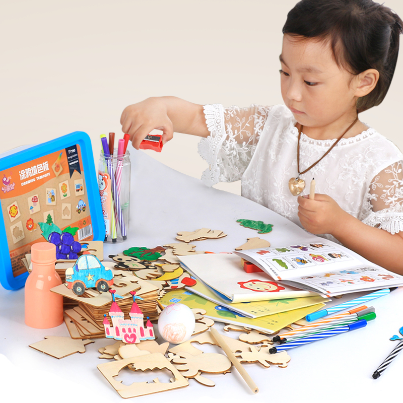 Juguetes Para Bebés Juguetes Para Dibujar Tablero Para Colorear Doodles Creativos Juguete Educativo Para Niños Y Niñas