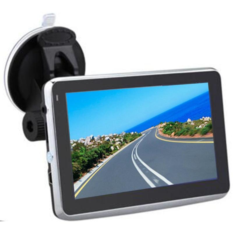 5 Inch Car GPS Navigator 800Mhz 128M Touch Screen 4GB WinCE Auto GPS Navigation for Tourist Free Lastest Maps RU US CA Europe NZ junsun d100 car gps navigator with free maps
