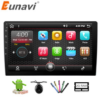 Eunavi 2GB 32GB 10 1 Universal 1024 600 Intel Car Stereo GPS Navigation System Android 6