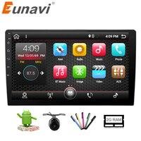 Eunavi 2GB 32GB 10 1 Universal 1024 600 Intel Car Stereo GPS Navigation System Android 6