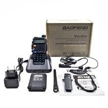 BAOFENG New Dual Band UV-5R Amateur Handheld Two Way Radio UHF/VHF 128 Channels FM Ham walkie talkie Transceiver Earpiece