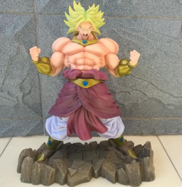 NEW hot 23cm Dragon ball Super Saiyan Broli action figure toys collection Christmas gift doll no box new hot 18cm super hero justice league wonder woman action figure toys collection doll christmas gift with box