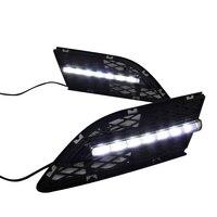 Car LED DRL Waterproof ABS Super bright 12V LED Daytime Running Light for BMW E90 328i 320i 323i 325i 330i 2010 2012