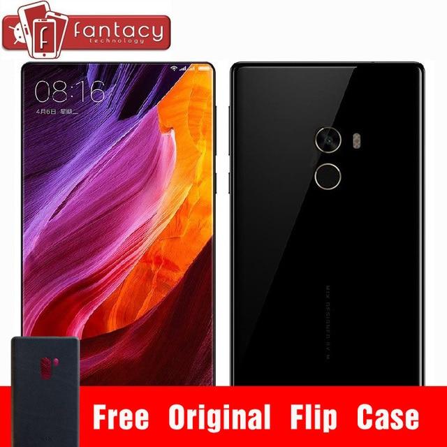 "Оригинал Xiaomi Mi Смешивания Pro 6 ГБ 256 ГБ Snapdragon 821 Quad Core Мобильных Телефонов NFC FDD LTE 4 Г 16.0MP 6.4 ""2040x1080 P FHD 4300 мАч"