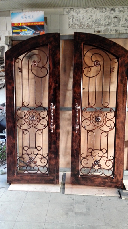 custom design forged wrought iron front doors iron doors wrought iron doors