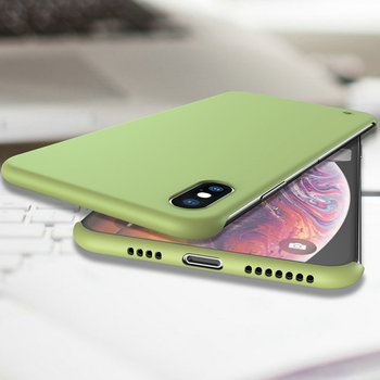 Case For Samsung S10 Plus S10 S9 Plus Cover Pure Candy Color Borderless Ultra Matte Hard PC Cover For Samsung Note10 Note9 Case