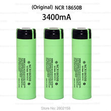 2016 New 3 PCS. The original NCR18650B 3.7 The 3400 mAh 18650 rechargeable lithium battery for Panasonic free shopping