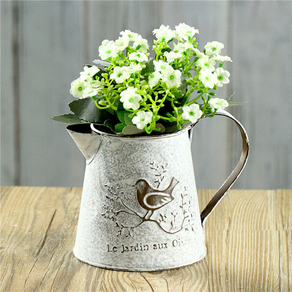 Zinc Flower Vase on zinc metal, zinc car, zinc desk, zinc basket, zinc dog, zinc patina, zinc chest, zinc table,