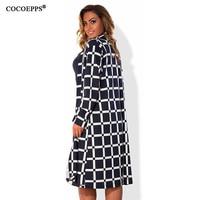 2016 Women Plaid Plus Size Coat Autumn Winter Big Sizes Clothes Women Trench Coats Overcoat Long