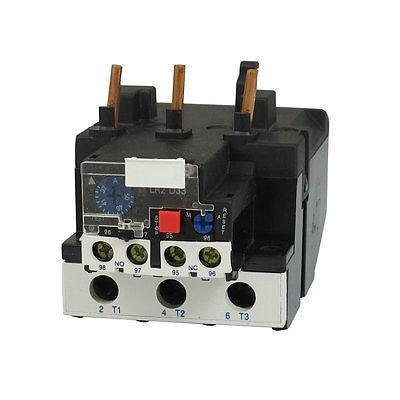 LR2-33 50A 37-50A 3-Phase 1NO 1NC Electric Thermal Overload Relay cnc 5 axis a aixs rotary axis three jaw chuck type for cnc router cnc milling machine