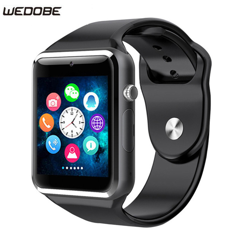 WEDOBE 2017 Best Craft And Material A1 Smart Watch Clock Support SIM TF Card Connectivity Android
