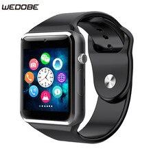 Лучшие Wedobe 2017 Best Craft и Материал A1 Смарт часы Поддержка sim-карта TF Подключение телефона Android SmartWatch A1