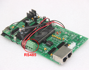 Image 2 - Tarjeta de Control principal, 12V, RS485 + RF, precio del aceite de Gas, pantalla LED, tablero de Control, uso para todos los tamaños, módulo de Número Digital Led