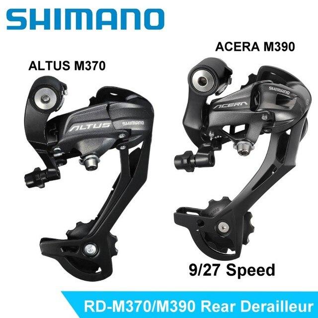 09f14d867de Acera RD-M390 9 Velocidad cadena de transmisión trasero SHIMANO Altus  RD-M370 MTB