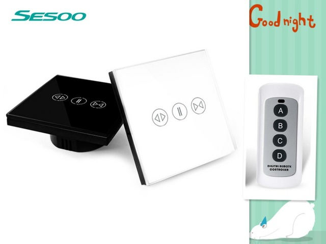sesoo electric switch with remote control Remote Control Wall Touch ...