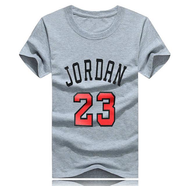 best cheap 93b8b e8da4 Online Shop Surprise Price! High Quliaty Cotton Jordan 23 Mens T Shirts  Fashion 2017 Short Sleeve Couple T-shirts Design Jordan Tops Tees    Aliexpress ...