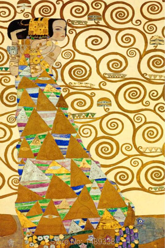 3 pcs Gustav Klimt Tree of Life Restaurant Mural creation for home ...