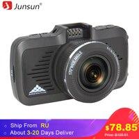 Junsun A799 Car DVR Camera GPS 2 In 1 Ambarella A7LA50 Full HD 1296P With Speedcam