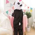 Alta Calidad Panda Pijamas Para Niños Disfraces Panda Kigurumi Pijamas Animal Niños Fiesta de Carnaval Cosplay Panda Twins Sleepsuit