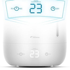 Image 3 - Deerma 5L Air Home Ultrasonic Humidifier Touch Version Air Purifying for Air conditioned rooms Office household D5