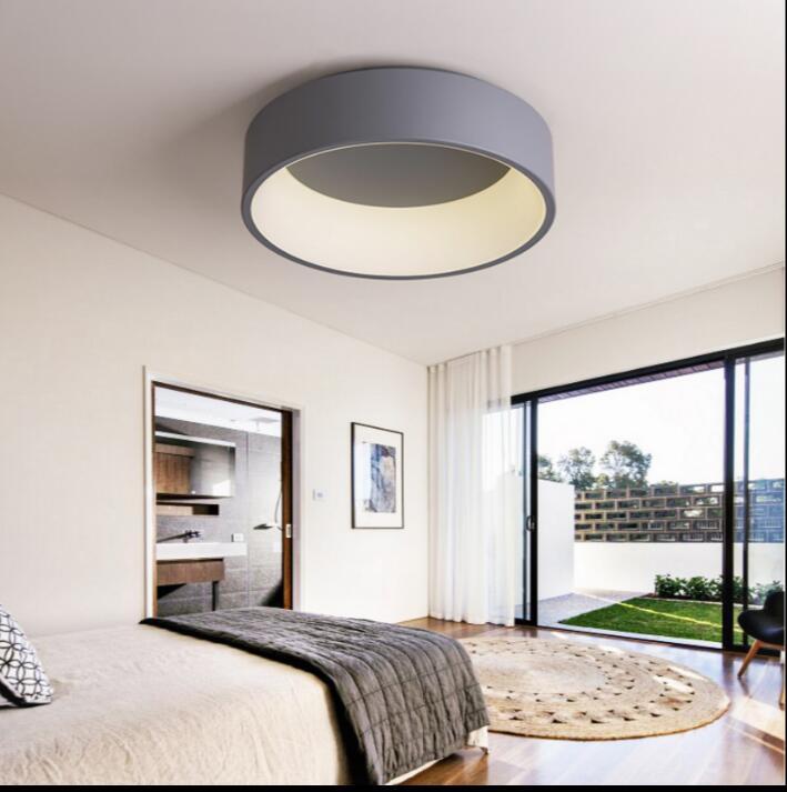 blancogris ronda de techo llevada moderna luces para estudio nios habitacin dormitorio moderno llev